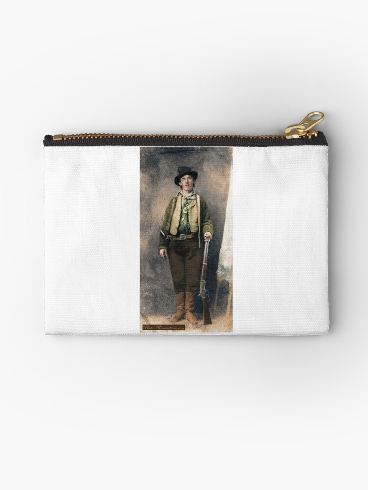 'Billy The Kid 1' Zipper Pouch by keefrog