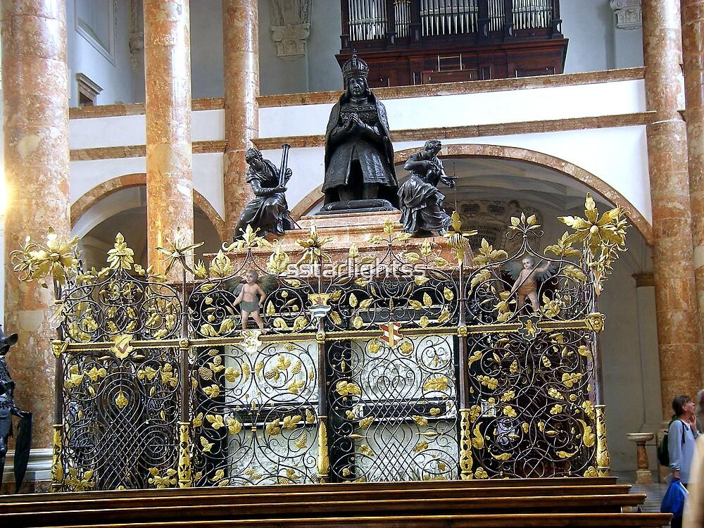 The Hofkirche (Imperial Church) Innsbruck, Tyrol -  cenotaph by sstarlightss