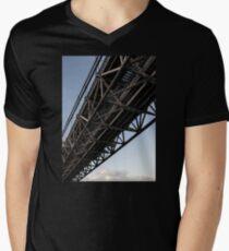 The Art of Steel Mens V-Neck T-Shirt