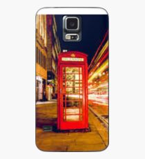 London red telephone box Case/Skin for Samsung Galaxy