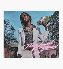 The World is Yours - Rich The Kid Photographic Print