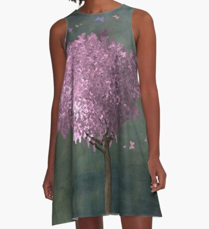 Spring Revival A-Line Dress