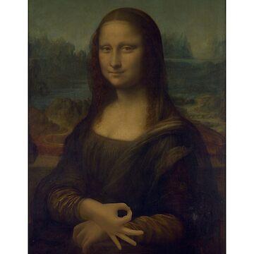 Mona Made You Look by KazundeNoir