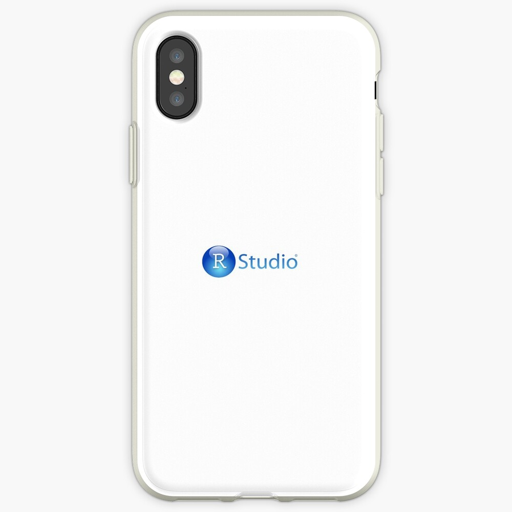 RStudio Logo | iPhone Case & Cover
