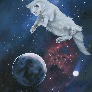 Space Kitty II by susanvansant