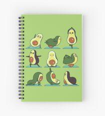 Avocado Yoga Spiral Notebook