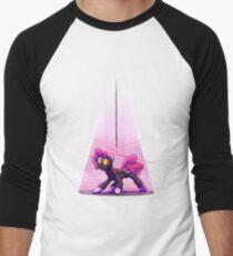 Pink Spy (White) Men's Baseball ¾ T-Shirt