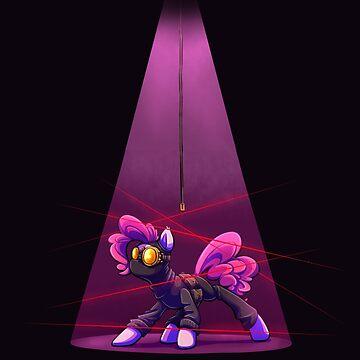 Pink Spy (Black) by Jadekettu