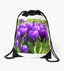 The promise of spring Drawstring Bag