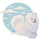 Samojeden Wolke von BeansAreEvil