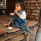 Child at Snay Village, near Banteay Srei, Cambodia by Bev Pascoe