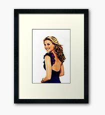Ali Larter - Celebrity Art Framed Print