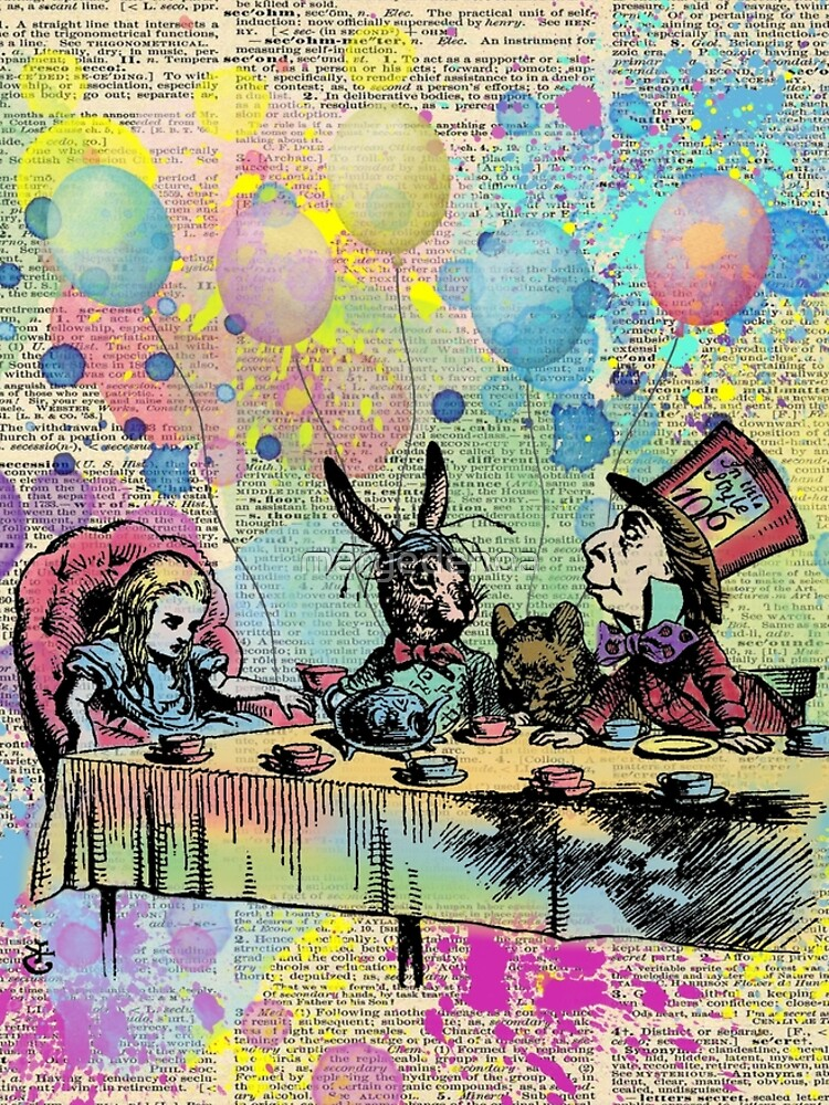 Tea Party Celebration - Alice In Wonderland by maryedenoa