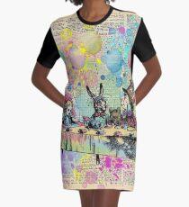 Teeparty-Feier - Alice im Wunderland T-Shirt Kleid