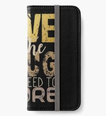 Love is the drug #2 iPhone Wallet/Case/Skin