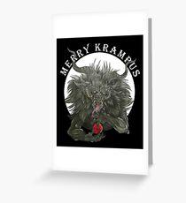 Merry Krampus  Greeting Card