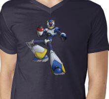 Megaman X - Light Armor Mens V-Neck T-Shirt