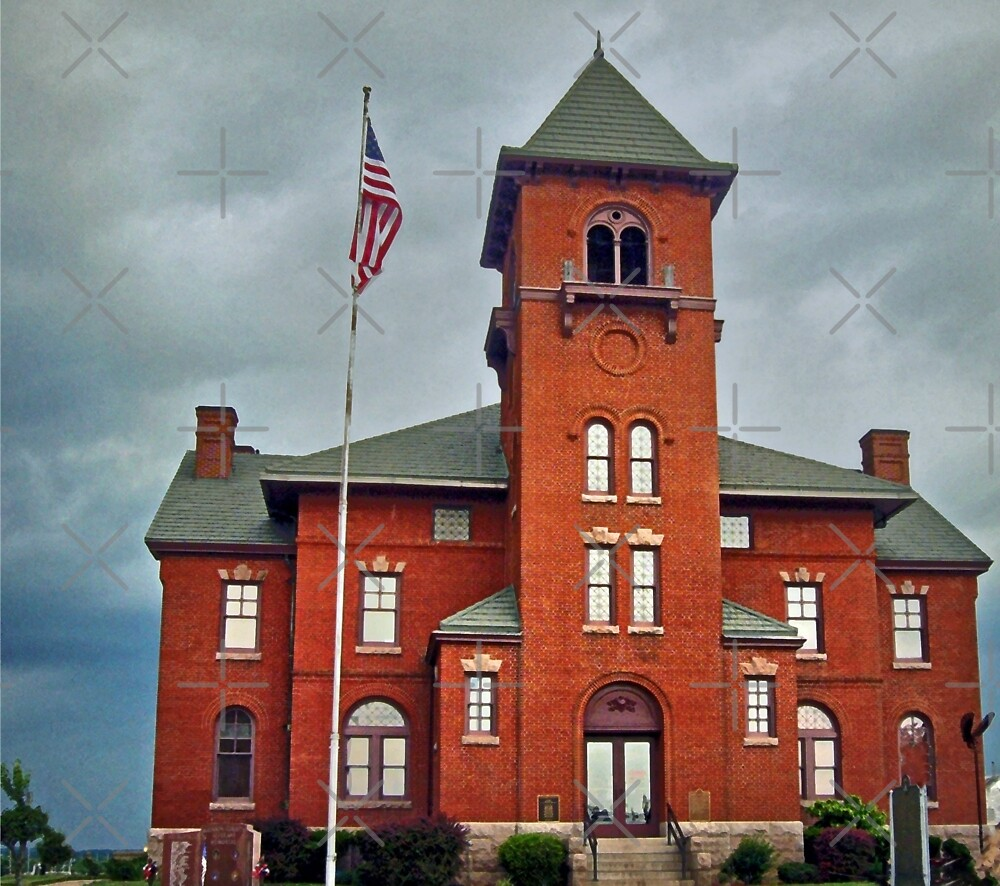 Madison County Courthouse by FrankieCat