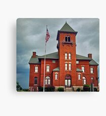 Madison County Courthouse Canvas Print