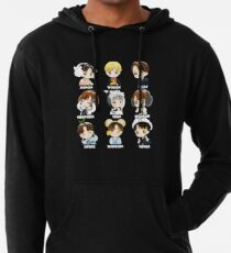 KPOP STRAY KIDS CHIBI ALL MEMBERS Lightweight Hoodie