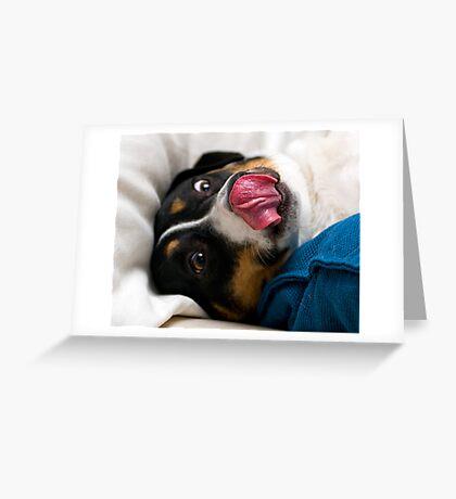Slurp Greeting Card