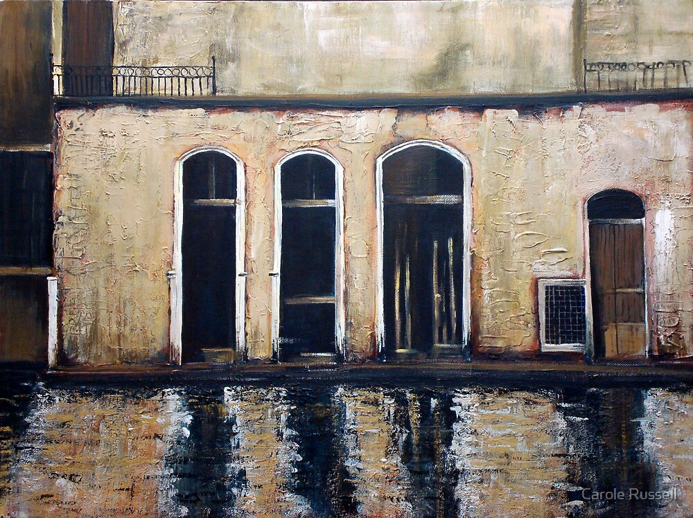 Venice - reflections by Carole Russell