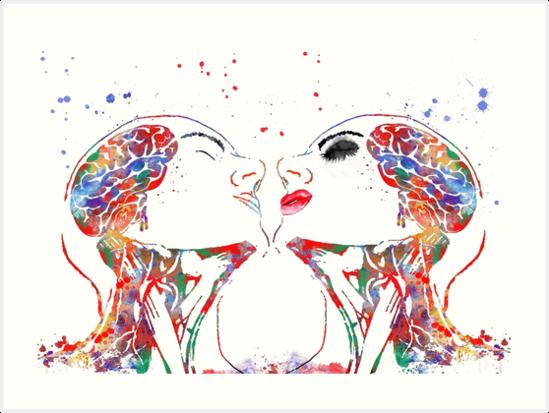 Láminas artísticas «Arte del amor, mujer y hombre, anatomía de la ...