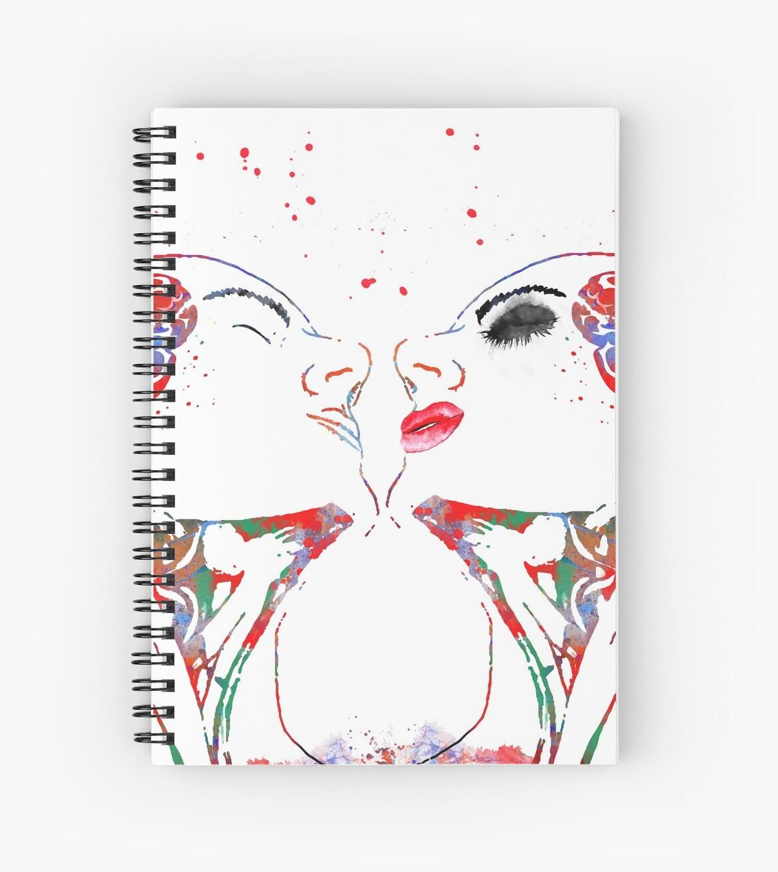 Cuadernos de espiral «Arte del amor, mujer y hombre, anatomía de la ...