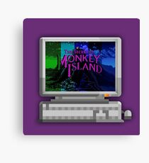 The secret of Monkey Island evolution Canvas Print