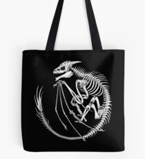 Dragon Fossil Tote Bag
