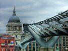 The Millennium Bridge by Colin  Williams Photography