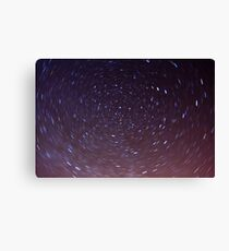 Starry Sky - Directly Above Canvas Print