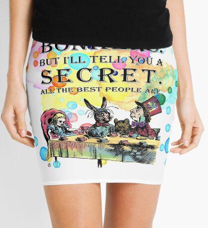 Tea Party - Cita de Bonkers - Alicia en el país de las maravillas Minifalda