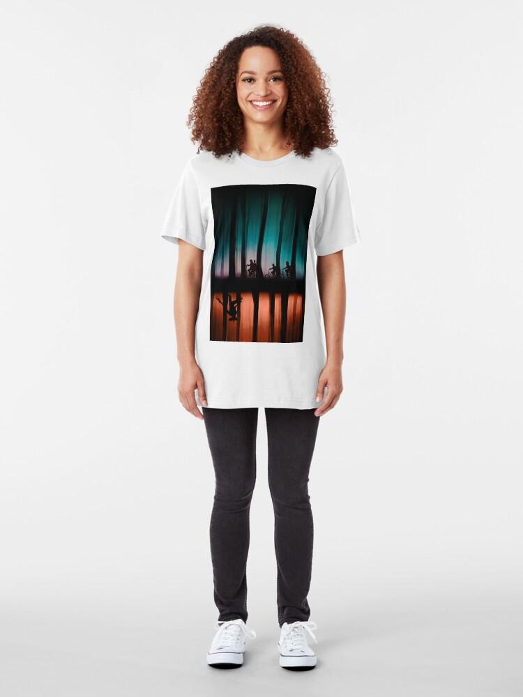 Alternate view of Stranger Things Slim Fit T-Shirt