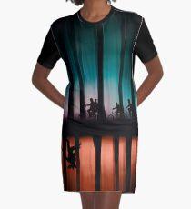 Fremde Dinge T-Shirt Kleid