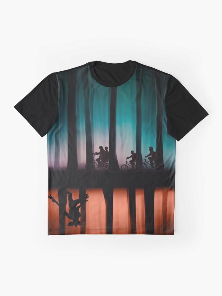 Alternate view of Stranger Things Graphic T-Shirt