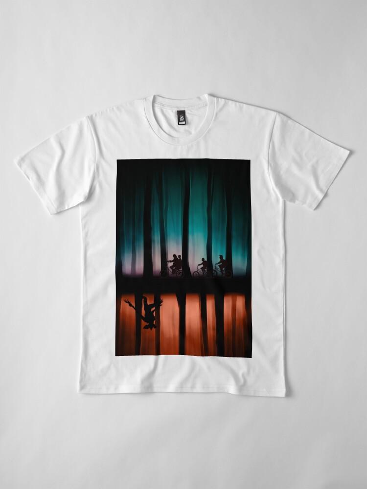 Alternate view of Stranger Things Premium T-Shirt