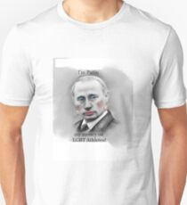 I'm Putin my money on LGBT Athletes! Unisex T-Shirt