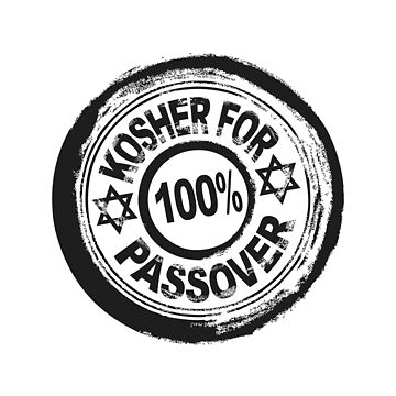 Pesach 100% Kosher For Passover Funny Jewish T Shirt Vintage Style by TimeForTShirt