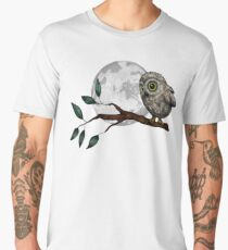 Moonlit Owl Men's Premium T-Shirt
