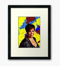 Kardashian - Celebrity Art Framed Print