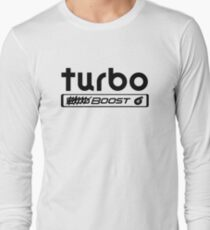 Turbo Boost T-shirt manches longues