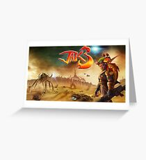 Jak 3 Cover Art Greeting Card