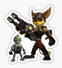 Ratchet and Clank 3 Sticker