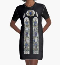 Cathedral Graphic T-Shirt Dress