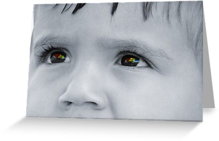 Through a Childs Eyes by Sara Wood