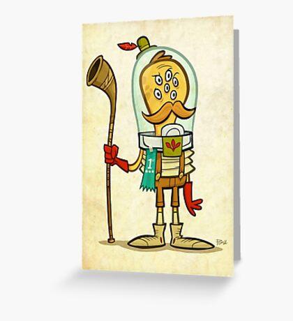 Alphorn Champion 1908 Greeting Card