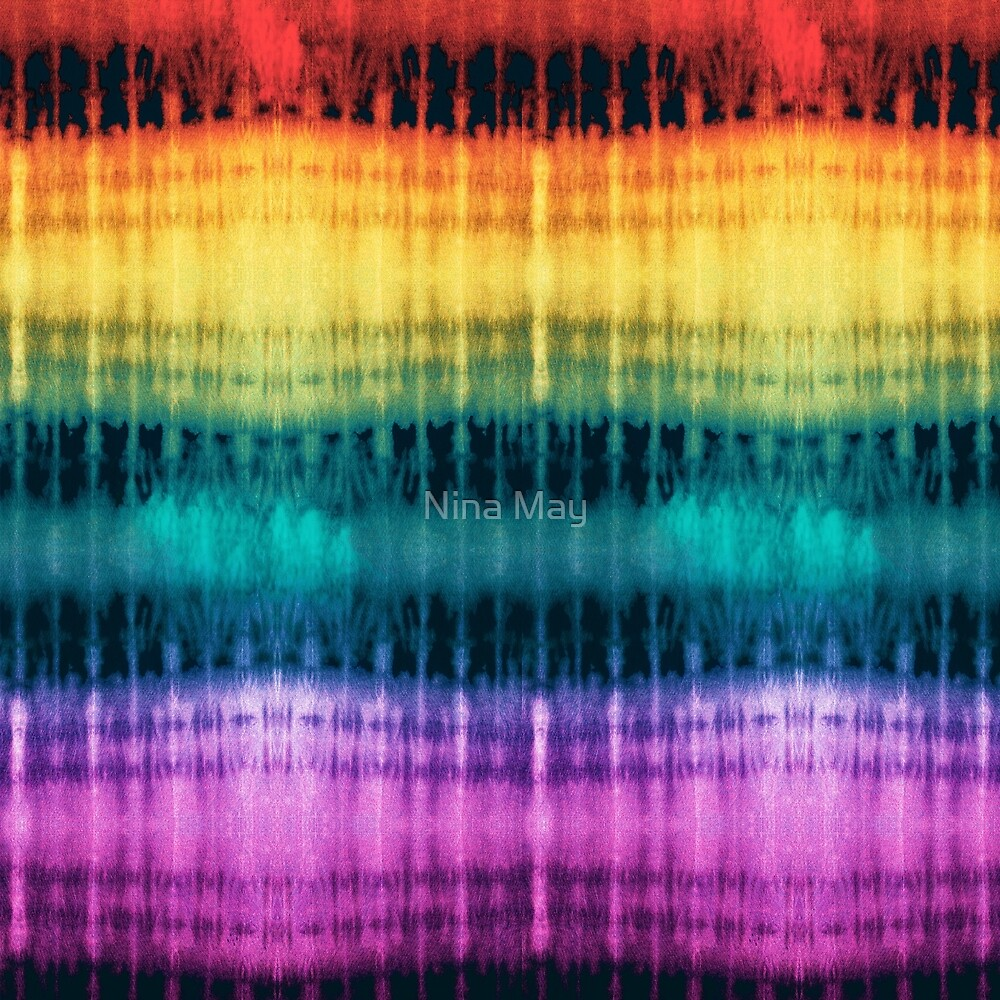 Jeweled Rainbow Shibori by Nina May