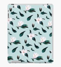 Sweet Magnolia Powder Blue iPad Case/Skin