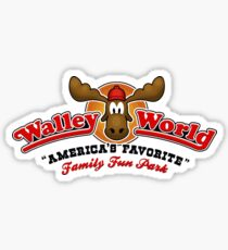 WALLEY WORLD - NATIONAL LAMPOONS VACATION (V1) Sticker
